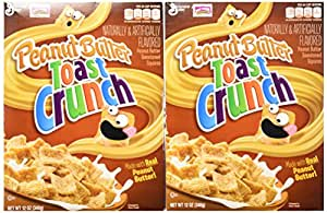 General Mills, Peanut Butter Toast Crunch, 12oz Box (Pack of 4)
