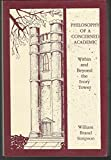 img - for Philosophy of a Concerned Academic: Within and Beyond the Ivory Tower book / textbook / text book