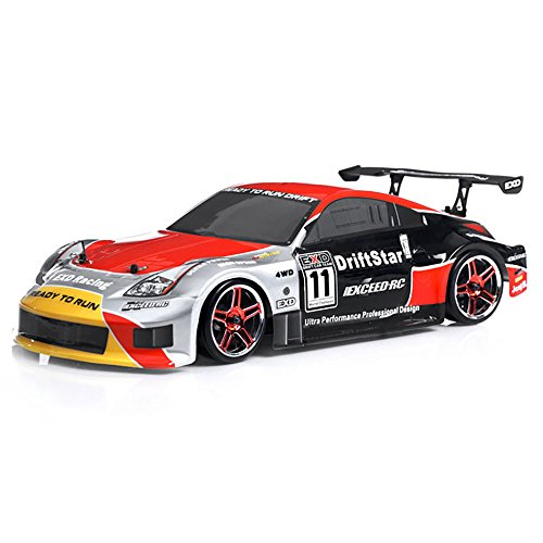 - 1/10 2.4Ghz Exceed RC Electric DriftStar RTR Drift Car 350 Red Version
