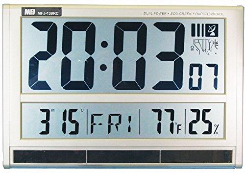 MFJ-139RC Jumbo LCD Clock Display