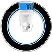 Amazon Lightning Deal 92% claimed: Etekcity Modern Digital Body Weight Bathroom Scale, Curvy Sleek Design,400 Pounds
