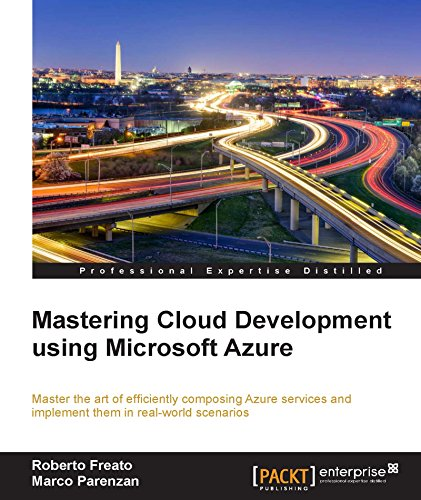 Mastering Cloud Development using Microsoft Azure Front Cover