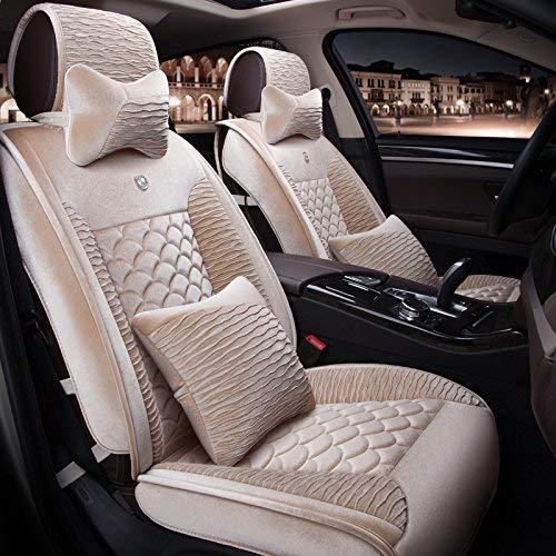 チャイルドシートカバーチャイルドシートクッション カーシートカバーぬいぐるみデラックス版(13セット)と標準版(9セット)ユニバーサルカーカバーカバー四季のユニバーサル5色の選択 カーシートマットカーシートプロテクター (色 : #32) #32
