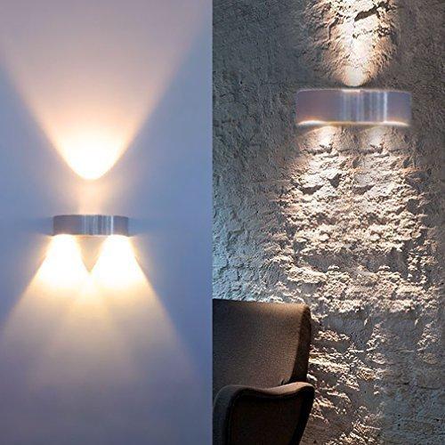 Auralum® Hochwertig 3W 300LM LED Wandleuchte Warmweiss 2800-3200K