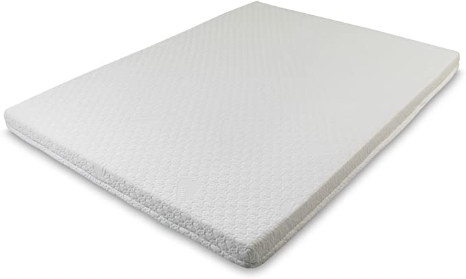 """Snug 7.5 cm / 3"""" inch Memory Foam Mattress Topper with Coolmax Removable Washable Cover, Double 4ft6 Size 135 x 190 cm: Amazon.co.uk: Kitchen & Home"""