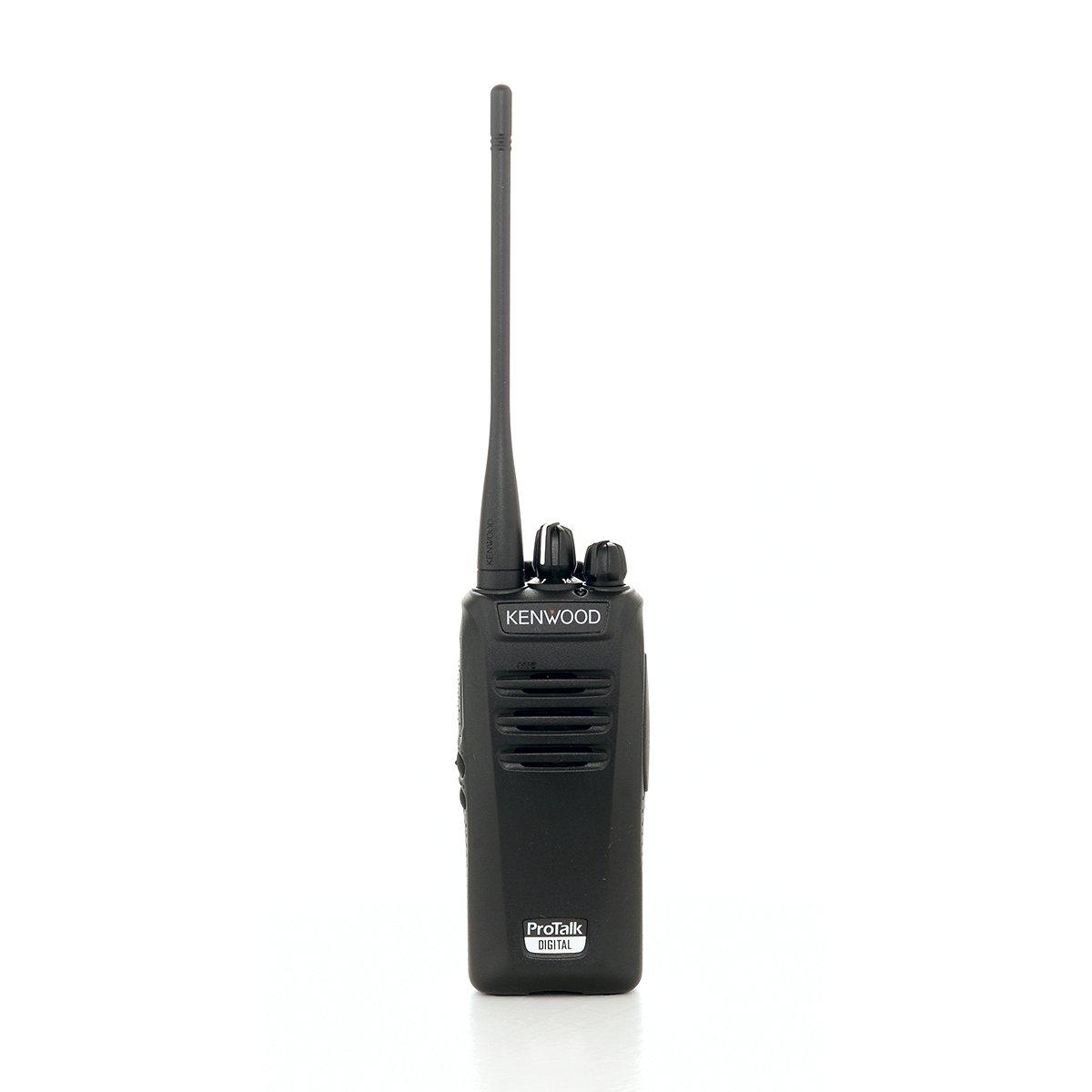 Kenwood NX-340U16P2 Two Watt Digital UHF Nexedge Professional Business Radio, Black