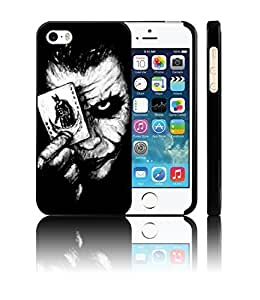 [BRIM] Joker ( Creative Fun Artsy Hand Painted Design - Slim Fit Hard Case Cover for Apple iPhone 5 5S )