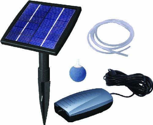 Beckett Pond Waterfall Pump (Beckett Corporation Air Pump Solar Kit)