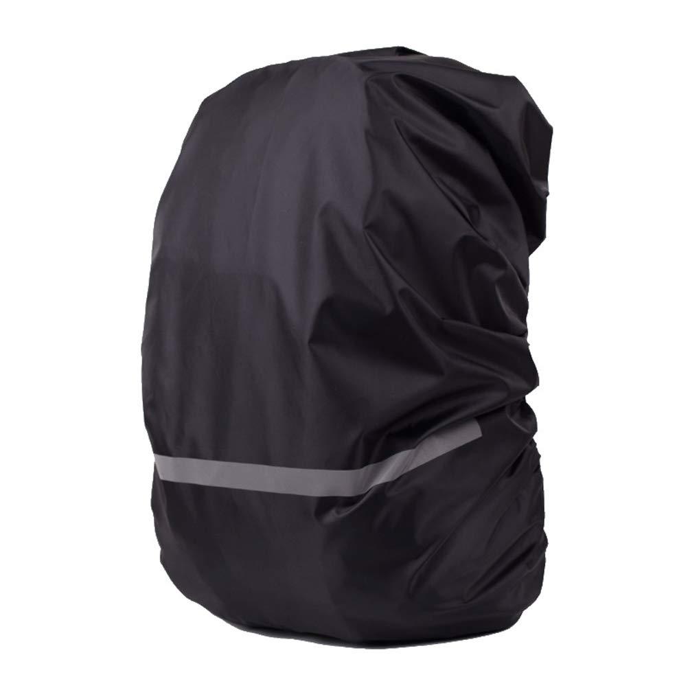 VORCOOL 防水防塵バックパック レインカバー ポータブル 超軽量 アウトドア ハイキング 登山バッグ レインカバー サイズM (ブラック)   B07GTHLT5R