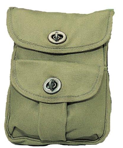 Canvas Loop Bag - Rothco O.D. 2-Pocket Ammo Pouch