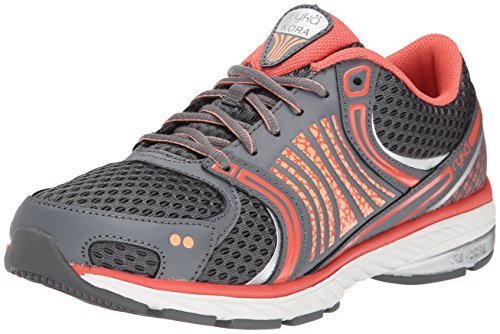 Ryka Kora Peach Chrome Coral Reef Nectar Shoe Forge Silver Running Grey Women's rqw5CaZOr
