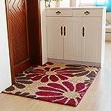 DIDIDD Door Carpenter Lockroom Living Room Sliding Blanket Simple Modern Household Hand Wash,C,120X180Cm(47X71Inch)