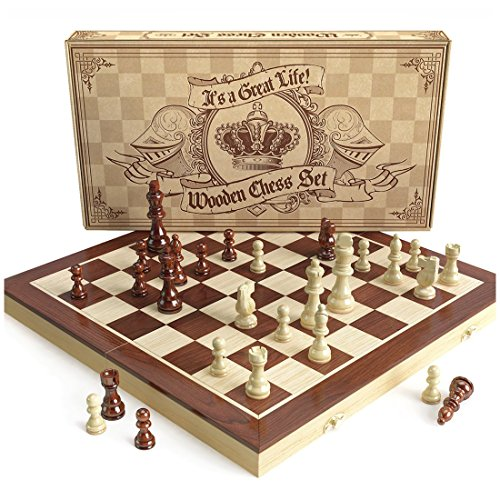 Quality Wood Chess Board - 3