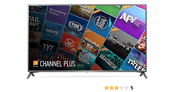 LG Electronics 75UJ657A 4K UHD HDR Smart LED TV, 75