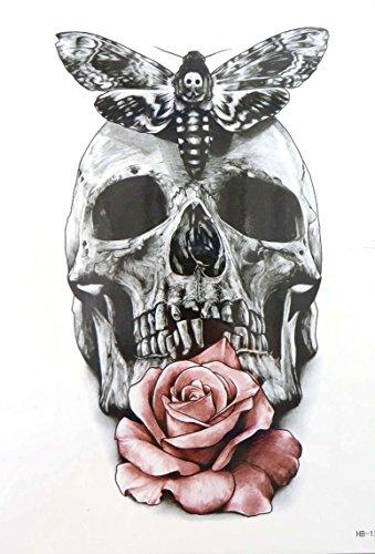 - rose Calavera sugar skull 8.25