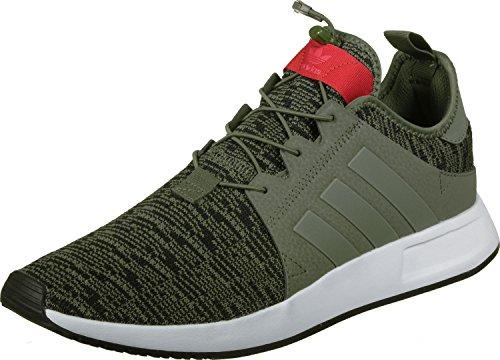 adidas X_PLR, Scarpe da Fitness Uomo Verde Rosso