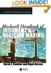 Blackwell Handbook of Judgment and De...