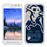 img - for Ncaa Pacific-12 Conference Pac-12 Football Ncaa Mountain West Conference Mwc Utah State Aggies 6 White Phone Case For Samsung Galaxy S6 Active,Unique Cover book / textbook / text book