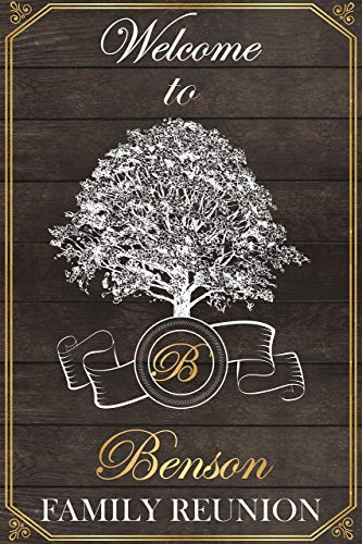 Rustic Wood Family Reunion Sign, Family Tree, Family