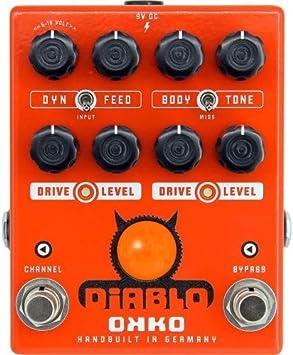 Okko Diablo Dual · Pedal guitarra eléctrica
