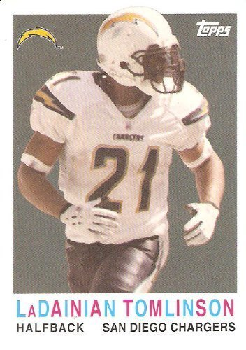 2008 Topps Turn Back the Clock #20 LaDainian Tomlinson - San Diego Chargers (Football ()