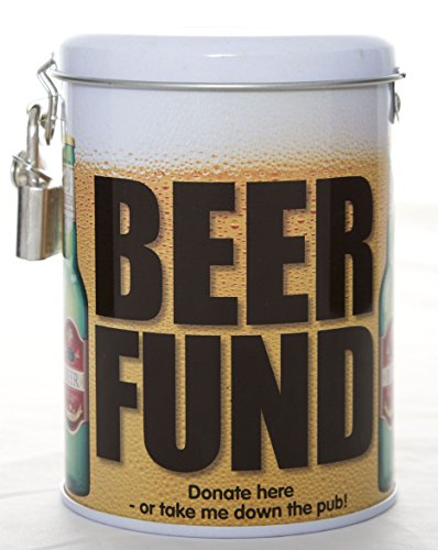 (Boxer Gifts TIN-Beer Fund, One, Green )