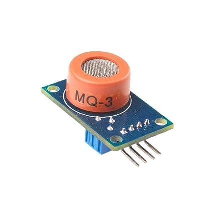 Solu ®Mq-3 Alcohol Ethanol Sensor Gas Detector Sensor Gas Sensor for Arduino/