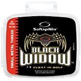 Softspikes Black Widow Classic Cleat Small Metal Thread (22 Count Kit), Outdoor Stuffs