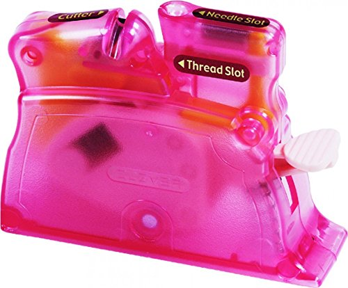 Clover Desk Needle Threader - Pink