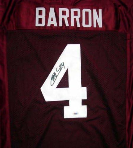 Amazon.com: Mark Barron Autographed Alabama Red Jersey PSA/DNA ...