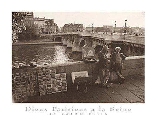 Buyartforless Dieux Parisiens a la Seine by Jason Ellis 5 X 7 Poster