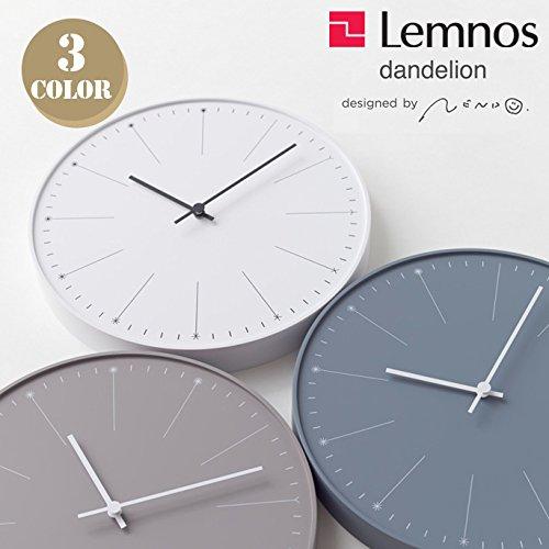 ウォールクロック(wall clock) ダンデライオン(dandelion) NL14-11 ベージュ B0147V9W8I ベージュ ベージュ