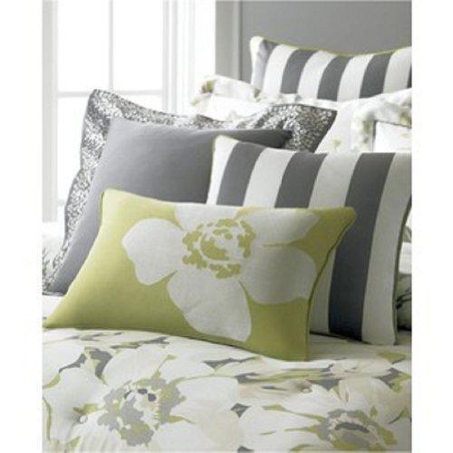Martha Stewart Collection Bedding, Poppy Floral 3 Piece Decorative Pillow (Martha Stewart Poppy)
