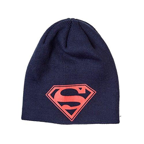 Superman Logo Official New Black Beanie Hat