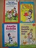 Amelia Bedelia Set (Play Ball ~ Helps Out ~ Amelia Bedelia ~ The Baby)