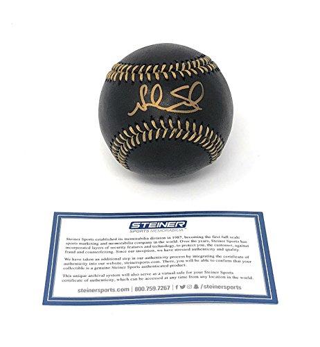 Noah Syndergaard New York Mets Signed Autograph Official MLB Black Baseball Steiner Sports (Signed Black Baseball)