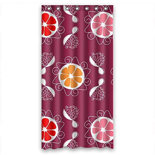 - Eyeselect Width X Height / 36 X 72 Inches / W H 90 By 180 Cm Polyester Bohemian Shower Drape Fabric Is Fit For Husband Mother Wife Mother Gf. Easy Care