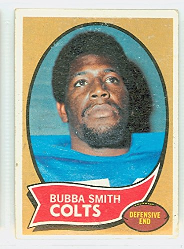 - 1970 Topps Football 114 Bubba Smith ROOKIE Baltimore Colts Very Good to Excellent