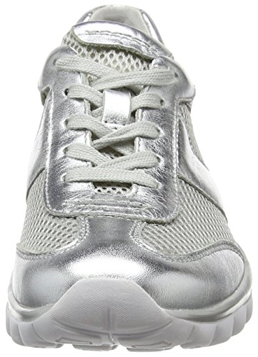 81 Rollingsoft Shoes Argent Basses Gabor Sneakers Silber Femme 7gZq06