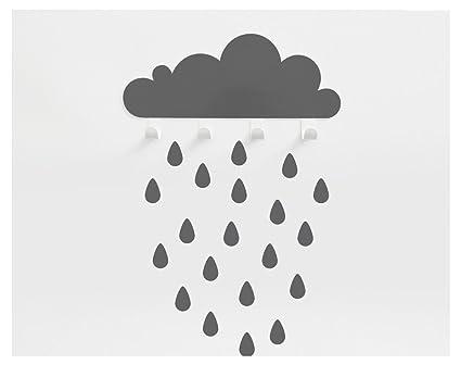 Perchero nube Gris: Amazon.es: Hogar