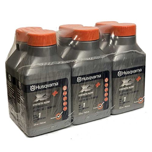 Husqvarna XP+ 2 Stroke Oil 2.6 oz. Bottle 6-Pack 593152301 by Husqvarna