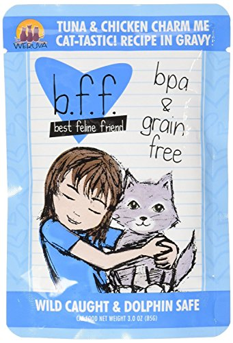Best Feline Friend  Tuna and Chicken, Pack of 24