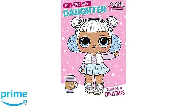 LOL Surprise LOX01 - Tarjeta de Navidad para hija: Amazon.es ...