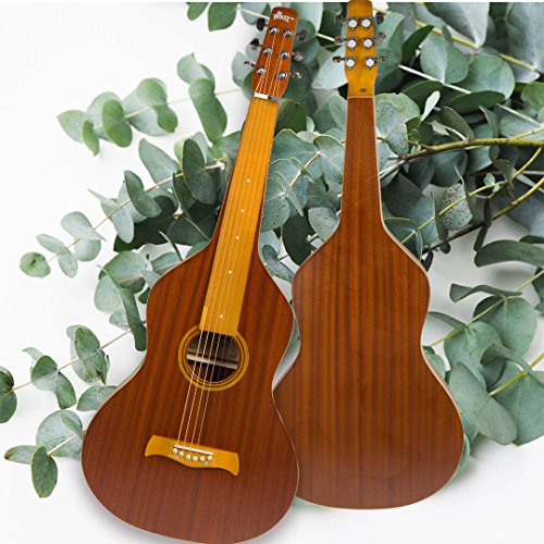 Limited Edition ~ WINZZ Hawaiian Weissenborn Classic Acoustic Lap Steel Guitar for Enthusiasts