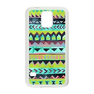 Green Tribal Pattern ZLB555385 Unique Design Phone Case for SamSung Galaxy S5 I9600, SamSung Galaxy S5 I9600 Case