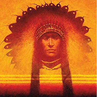 Ceaco Native American Sunset - New Leader Puzzle (550 Piece): Toys & Games