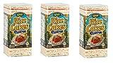 korean flat rice cakes - Landau Thin Rice Cakes 4.6 Oz (Pack of 3) (Salted)
