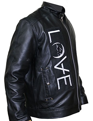 Angels and Airwaves Love Tom Delonge Sheep Leather Jacket,3XL. by The Jasperz (Image #3)