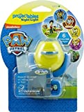 Nickelodeon Paw Patrol Light Sensing LED Projection Night Light with 6 Scenes Gently Slide Wheel to Change Between Six Different Pictures