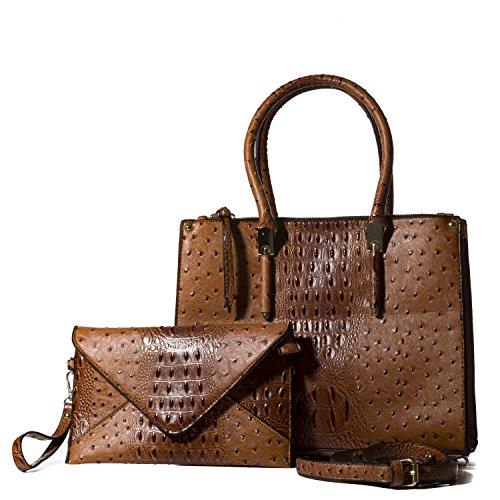 Handbag Republic Cute Designer Fashion Top Handle Vegan Leather Bag Tote Style Purse For Women